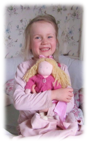 Ara & her doll